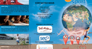 Brochure SOS Sport