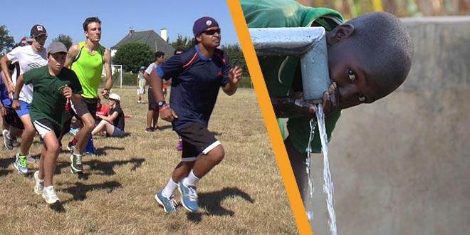 Course humanitaire du Camp Sport+ pour l'accès à l'eau potable